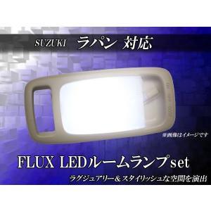 LEDルームランプセット ラパン FLUXLEDルームランプ 1PCS 12連LED -14