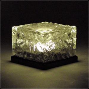 ソーラーライト ソーラー充電式 ガラスブロック...の詳細画像2