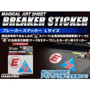 ハセ・プロ ブレーカーステッカー Lサイズ ※お取り寄せ|dko