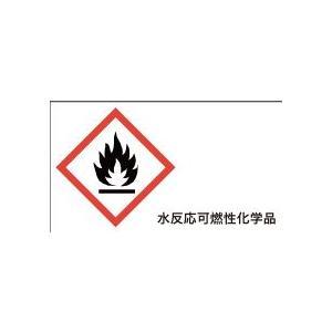 炎 水反応可燃性化学品 20丁×5シート(小数100枚)|dkom