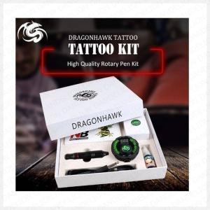 タトゥー プロフェッショナル タトゥーキットセット ロータリータトゥーマシンペン 電源 インクセット 針 アクセサリー