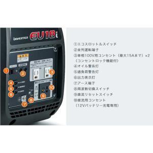 ホンダ 正弦波インバーター搭載発電機 EU18i dmkenzaiichiba 02