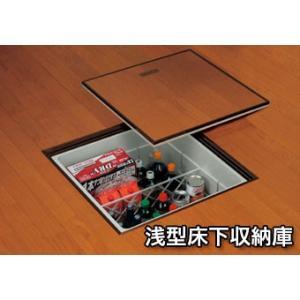 サヌキ SPG 浅型床下収納庫 ノックダウン式 FS606 606角タイプ dmkenzaiichiba