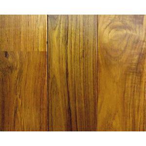 無垢ミャンマーチークフローリング ユニタイプ 15×90×1820 0.5坪入り ウレタンクリアー塗装  ※送料別|dmkenzaiichiba