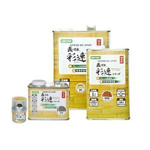 匠の塗油 彩速(さいそく) 着色 1L 1ケース(6缶入り) ※送料無料(本州限定) dmkenzaiichiba