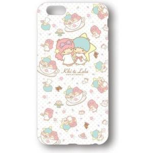 【メール便対応】【キキ&ララ×ケアベア】iPhone6PlusキャラクターソフトジャケットSAN-399A総柄|dmzfree