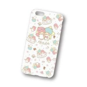 【メール便対応】【キキ&ララ×ケアベア】iPhone6PlusキャラクターソフトジャケットSAN-399A総柄|dmzfree|02