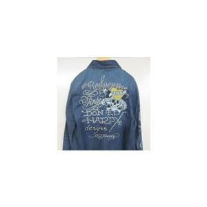 レッドペッパー×エドハーディーコラボレディースデニムシャツ#EH42LS-30|dmzfree