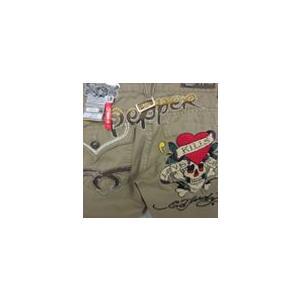 レッドペッパー×エドハーディーコラボメンズストレートチパンツEH8977|dmzfree