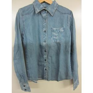REDPEPPER レッドペッパーレディースデニムシャツ#61LS-37CM|dmzfree