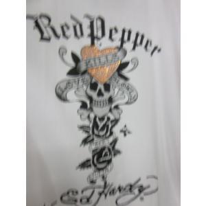 レッドペッパー×エドハーディーコラボメンズTシャツEH41MT-12|dmzfree|05