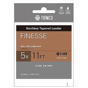 ティムコ  TIEMCO フィネスリーダー 8FT 4X...