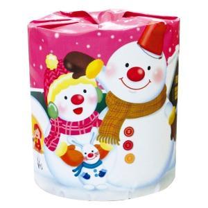 トイレットペーパー 雪だるま1ロール 【ロット割れ不可】100個単位でご注文願います |dnetmall