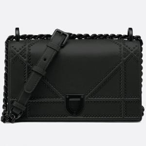 ディオール DIOR ウルトラブラック Diorama スモールバッグ(M0421SLON M989)ブラック ギフト包装|dnfal