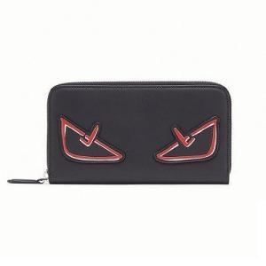 フェンディ FENDI  ジップアラウンド長財布(7M0210A72KF0P0N)ブラックレザー 財布|dnfal