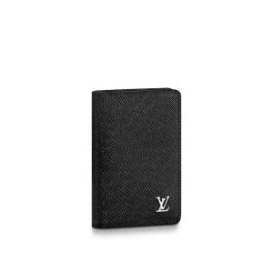ルイ・ヴィトン LOUIS VUITTON オーガナイザー・ドゥ ポッシュ(M30283)ブラック/タイガ カードケース|dnfal