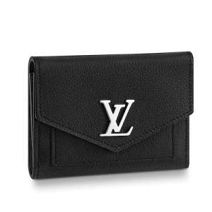 ルイ・ヴィトン LOUIS VUITTON ポルトフォイユ・マイロックミー コンパクト(M62947)カーフレザー 折財布|dnfal