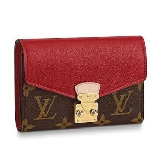 ルイ・ヴィトン LOUIS VUITTON ポルトフォイユ・パラス コンパクト(M67478)モノグラム・キャンバス 折財布|dnfal
