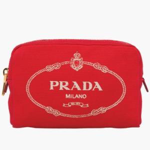 プラダ PRADA ポーチ(1NA021 20L F0N50)レッド|dnfal