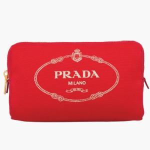 プラダ PRADA ポーチ(1NA693 20L F0N50)レッド|dnfal
