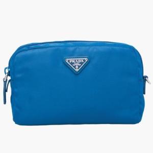 プラダ PRADA ファブリック ポーチ(1NE021 067 F0215)ブルー|dnfal