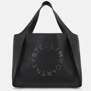 ステラ マッカートニー Stella McCartney ステラ スタッズド ロゴ トート バッグ(502793W83231000)ブラック|dnfal