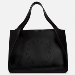 ステラ マッカートニー Stella McCartney ステラ ロゴ トート バッグ(502793W99231000)ブラック|dnfal