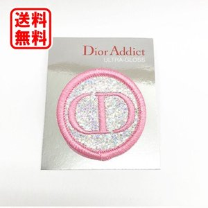 定形外送料無料 ディオール Dior ディオール 布バッジ(ピンク)|dnfal