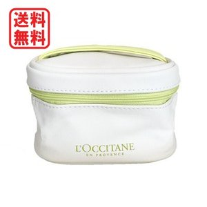 ロクシタン L'OCCITANE バニティポーチ ホワイト|dnfal