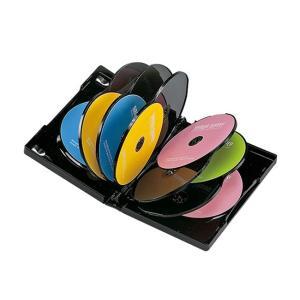 [メディアケース ブルーレイ対応 12枚] SANWA SUPPLY(サンワサプライ) DVDトールケース 12枚収納 ブラック(DVD-TW12-01BK) do-mu