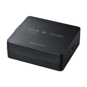SANWASUPPLY サンワサプライ VGA→HDMI変換コンバーター (VGA-CVHD2) do-mu