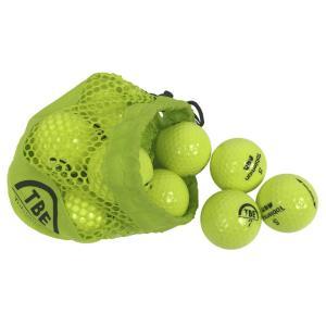 飛衛門 ゴルフボール メッシュバック イエロー R&A公認球 メッシュバッグ カラーボール 12球 1ダース 飛距離up (TBM-2MBY)|do-mu