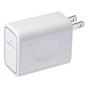 Planex プラネックス コンセント直挿型 トラベル無線LANルータ (MZK-DP150N)|do-mu