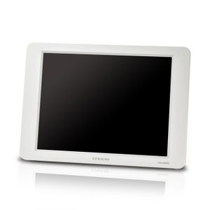 CENTURY センチュリー VGA接続 plus one VGA 8インチ 液晶モニター グレイッシュホワイト (LCD-8000V2W)|do-mu