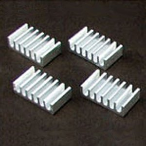 COMON カモン ヒートシンク 4個入り 12x21x6mm (HS-12216)|do-mu