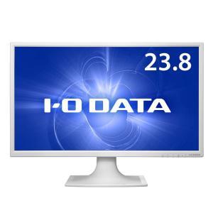 IO DATA アイ・オー データ 液晶ディスプレイ 23.8インチ 広視野角ADSパネル採用! ワイド液晶ディスプレイ ホワイト (LCD-MF244EDSW)|do-mu