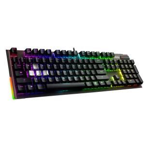 MSI エムエスアイ ゲーミングデバイス キーボード VIGOR GK80 有線 日本語配列 CHERRY MX RGB シルバー軸 (Vigor GK80 CS JP)|do-mu