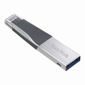 SanDisk サンディスク USBフラッシュメモリ iXpand Mini Lightning+USB3.0 海外パッケージ 64GB (SDIX40N-064G-GN6NN)|do-mu