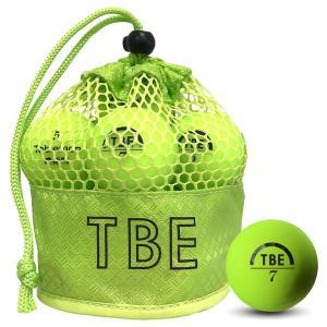 飛衛門 ゴルフボール メッシュバック マット イエロー R&A公認球 メッシュバッグ マットボール 12球 1ダース 飛距離up (T-2MY)|do-mu