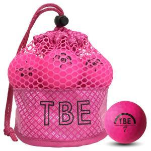 飛衛門 ゴルフボール メッシュバック マット ピンク R&A公認球 メッシュバッグ マットボール 12球 1ダース 飛距離up (T-2MP)|do-mu