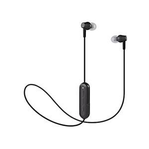 audio-technica オーディオテクニカ Bluetooth ワイヤレスイヤホン ブラック (ATH-CK150BT BK) do-mu