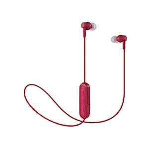 audio-technica オーディオテクニカ Bluetooth ワイヤレスイヤホン レッド (ATH-CK150BT RD) do-mu