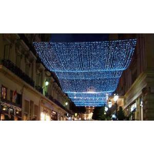 LED イルミネーション ネットライト 道 点滅 ディスプレイ 飾り 照明 ライティング クリスマス ミルキーウェイ 白×青 白×電球色 庭 ガーデン 家 CR-39|doanosoto