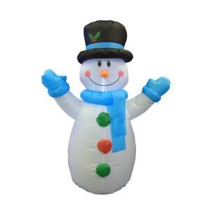 空気 イルミネーション LED ディスプレイ 飾り ライティング クリスマス 雪だるま エアースノーマン AR101 CR-84 照明 ライト イベント ガーデン 室内|doanosoto