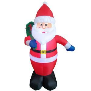 空気 イルミネーション LED ディスプレイ 飾り ライティング クリスマス エアーサンタ AR102 CR-85 照明 ライト イベント ガーデン 室内|doanosoto