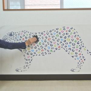 フローラル・キャッツ グレー Sサイズ 高級 ウォールステッカー 転写 東京ステッカー リビング 可愛い 猫 玄関 子供部屋 doanosoto 06