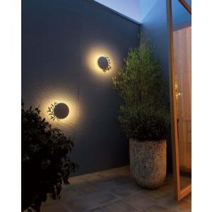 デコウォールライト リーフ LED 室外灯 壁面 装飾 灯り 照明 植物 店舗 ウエルカムライト GYO G254 375 YT-205|doanosoto|02