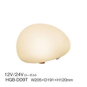 ストーンライト LED 和風ライト 12V 24V ローボルト 然 照明 灯り 石 丸 庭 玄関 ポーチ 店舗 タカショー 照明 TK-1038|doanosoto
