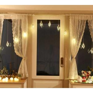室内用 イルミネーション LED ジュエリーバルブ カーテンライト 15個付 JB15D CR-99 クリスマス 照明 ライト|doanosoto