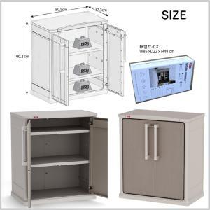 収納庫 物置 収納 樹脂 ガーデン 整理 KETER ケター OPTIMA BASE SHED オプティマベースシェッド GA-349|doanosoto|03